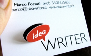 ideawriter bigliettino da visita