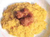 un bel piatto di risotto alla monzese