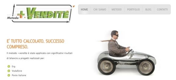 homepage + vendite, web writer marco fossati