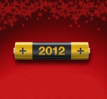 I miei personali auguri per un più che positivo 2012