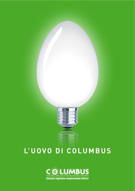 Brochure istituzionale per Columbus, Marco Fossati ideawriter.