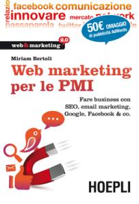 Web marketing per le PMI di Miriam Bertoli, consiglio di lettura del copywriter di monza