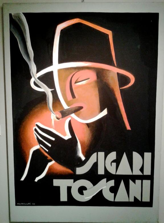 manifesto sigari toscani uberto bonetti