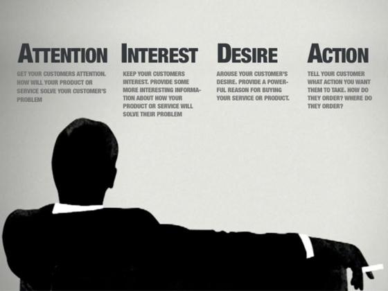 AIDA la formula persuasiva per eccellenza