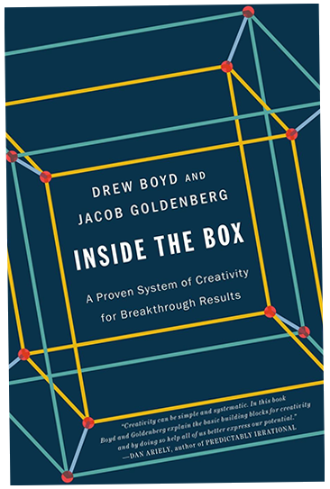 la copertina del libro Inside the box