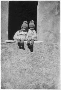 Guid e Carlo a Bormio nel 1927