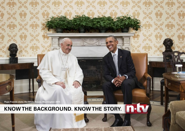 papa francesco obama