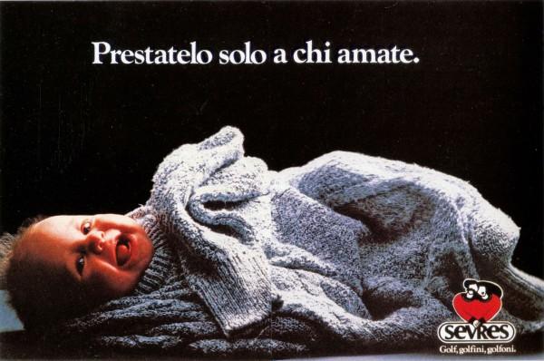 sevres pubblicità maglione