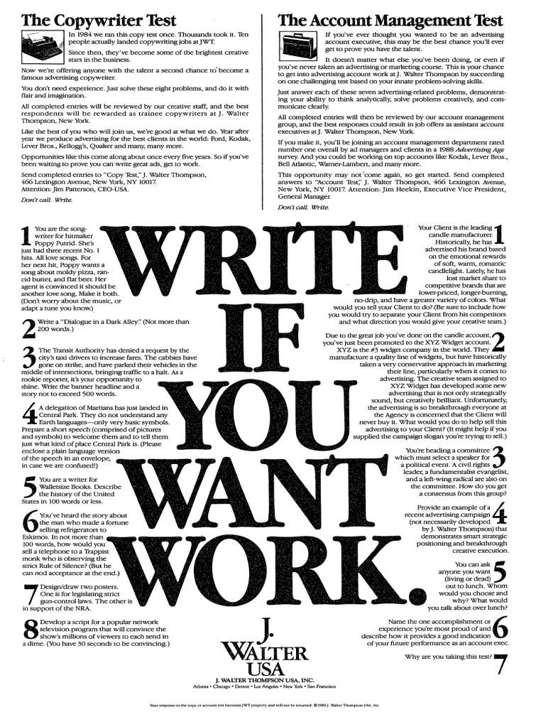 consigli per aspiranti copywriter
